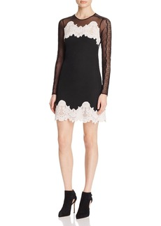 Sandro Kyra Mixed-Lace Dress - 100% Exclusive
