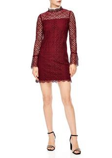 sandro Lace Shift Dress