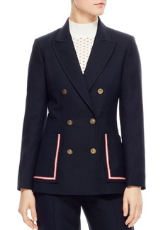 Sandro Laure Double-Breasted Jacket