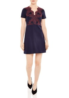 Sandro Margo Lace Overlay Dress