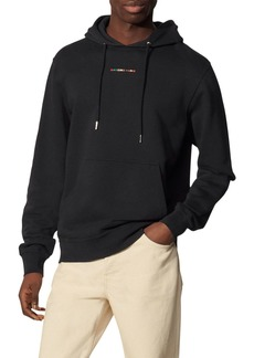 Sandro Multicolor Embroidered Logo Hoodie