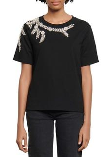 sandro Rhinestone T-Shirt