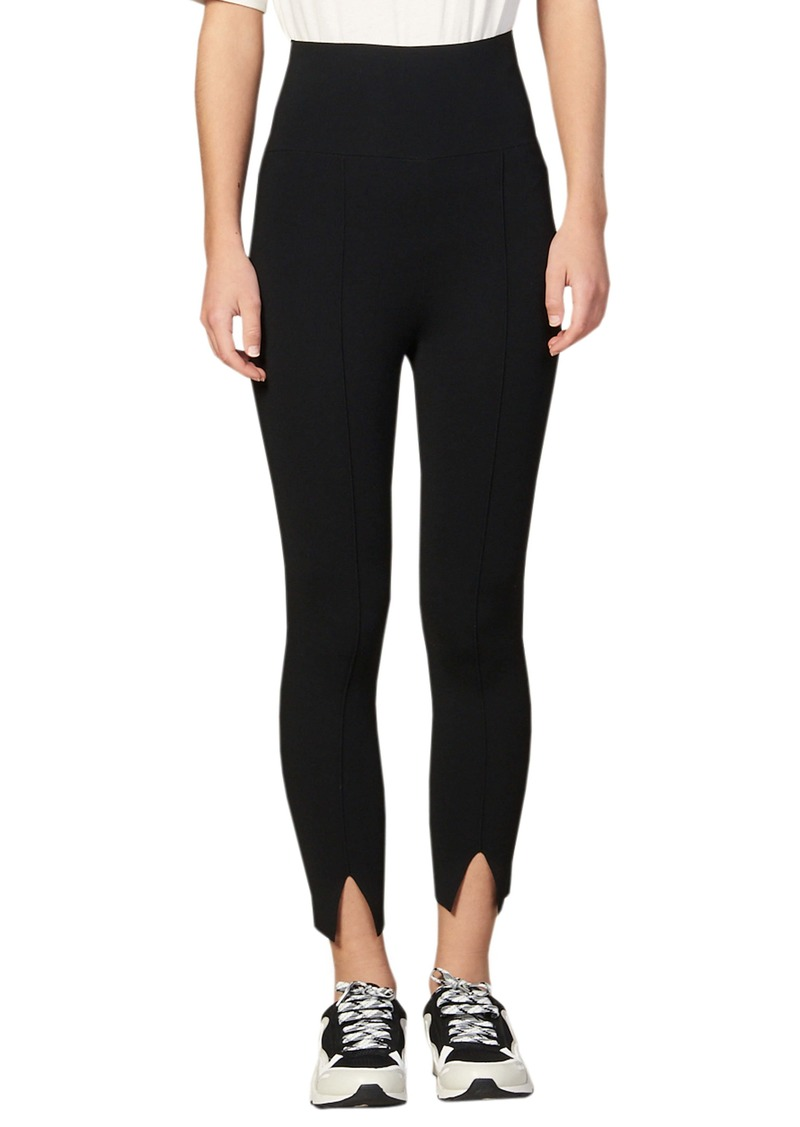 sandro Sienna Slit Ankle Leggings