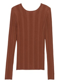 sandro Strappy Back Sweater