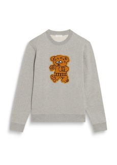 Sandro Teddy Patch Sweatshirt