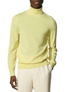 Sandro Turtleneck Slim Fit Sweater