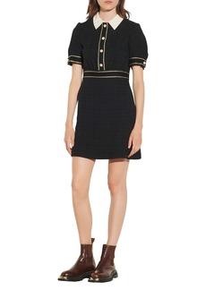 sandro Tweed Minidress