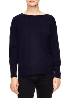 sandro V-Back Sweater