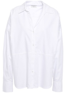 Sandro Woman Cotton-twill Shirt White