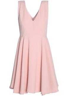 Sandro Woman Pleated Cloqué Mini Dress Baby Pink