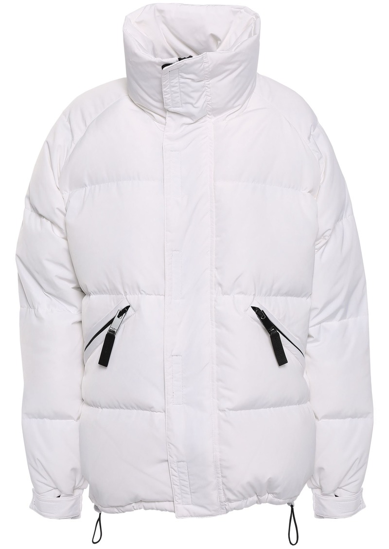 Sandro Woman Quilted Shell Down Coat White