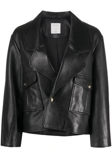 Sandro Shanny leather jacket