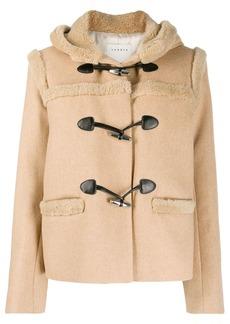 Sandro shearling duffle jacket