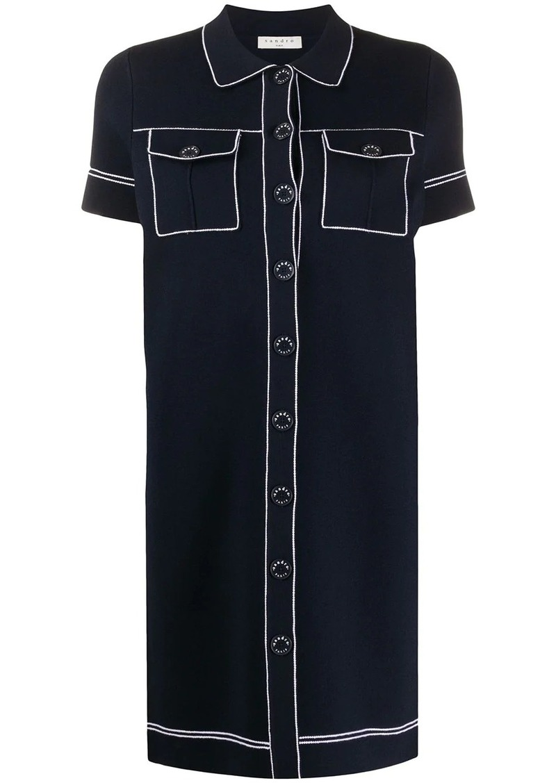 Sandro shirt dress