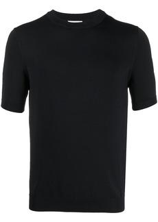 Sandro short-sleeved crew-neck pullover