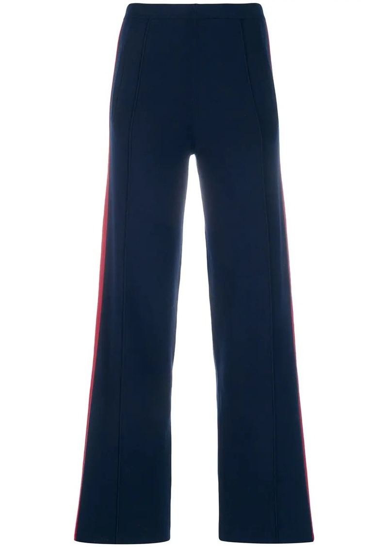 Sandro side stripe track pants