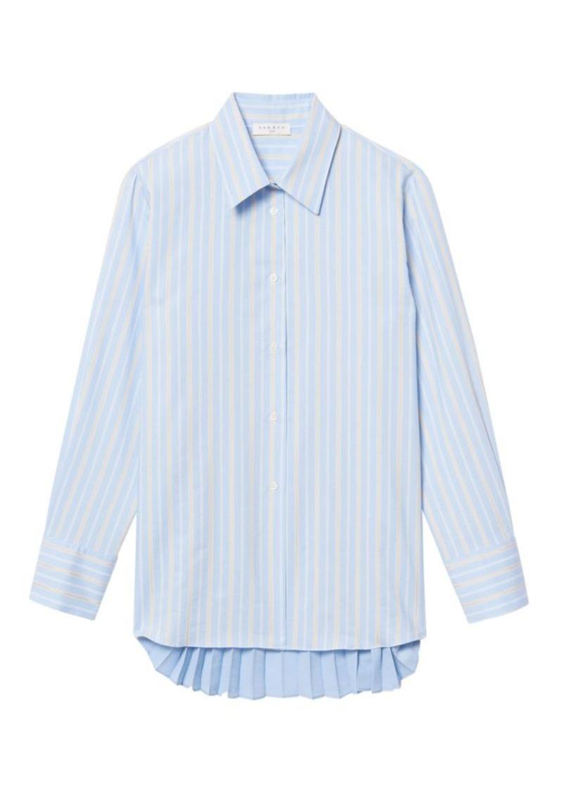 Sandro Sielle Striped Button Down Shirt