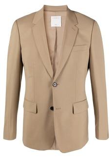 Sandro notched-lapels single-breasted blazer