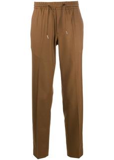 Sandro straight-leg drawstring trousers