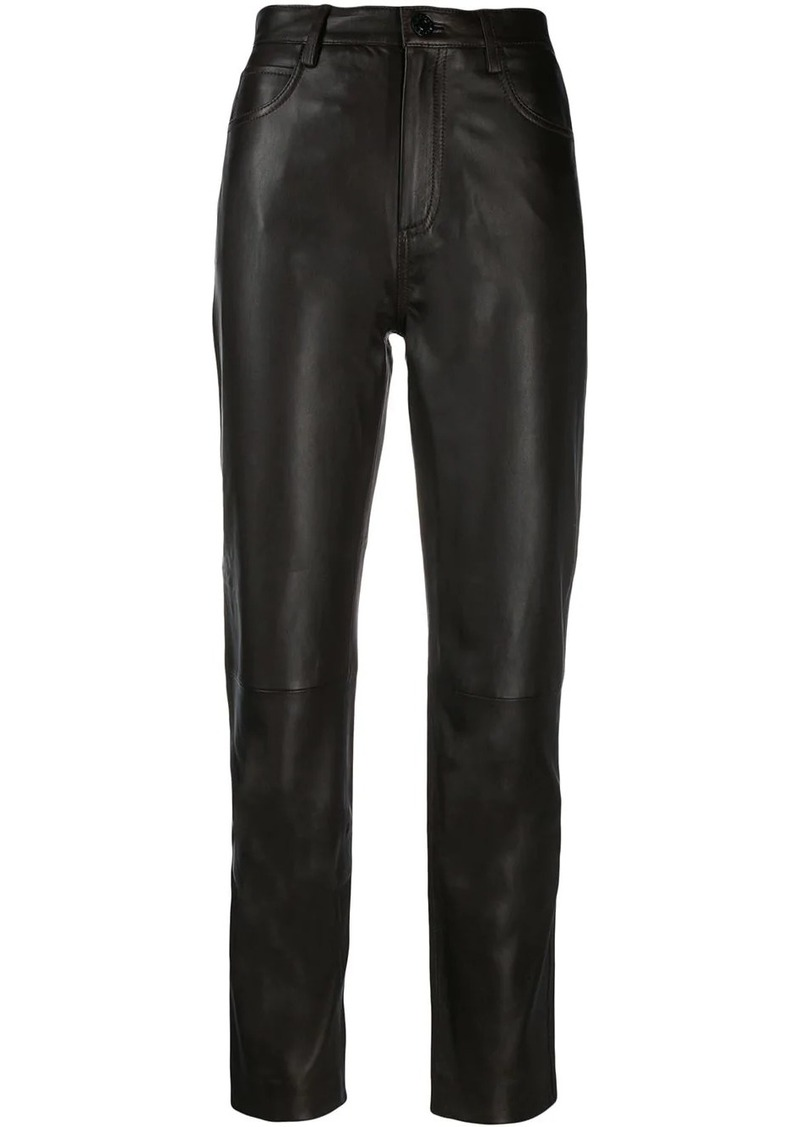 Sandro straight-leg trousers
