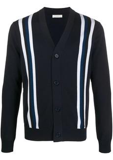 Sandro stripe long-sleeve cardigan