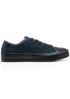 Sandro suede low-top trainers
