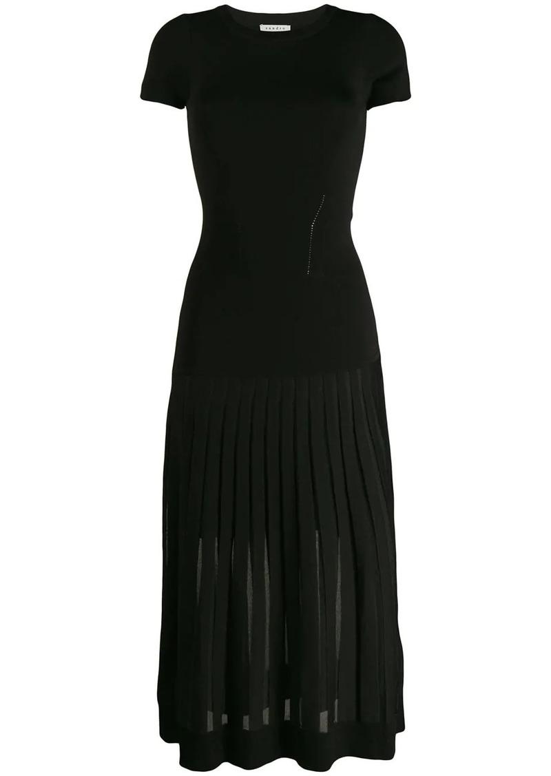 Sandro Swan dress
