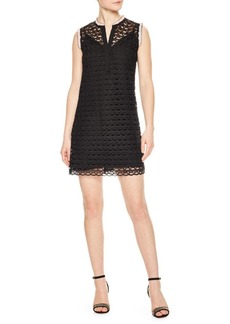 Sandro Symbole Crocheted Dress
