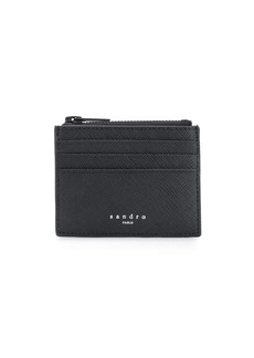 Sandro top zipped wallet