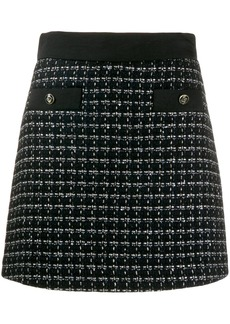 Sandro tweed skirt