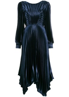 Sandro Venezia pleated dress