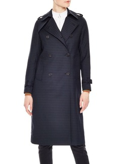 Sandro Wave 1 Rosale Trench Coat