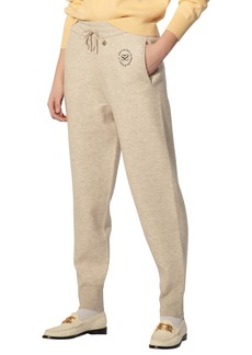 Women's Sandro Embroidered Joggers