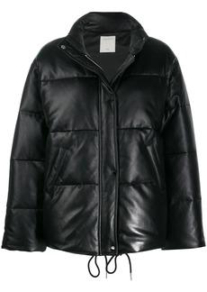 Sandro zipped padded jacket