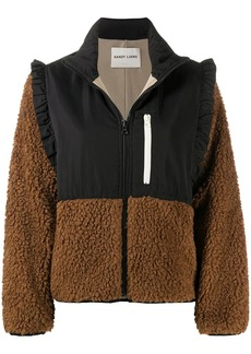 Sandy Liang Mia ruffle-trim jacket
