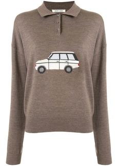 Sandy Liang polo shirt sweater