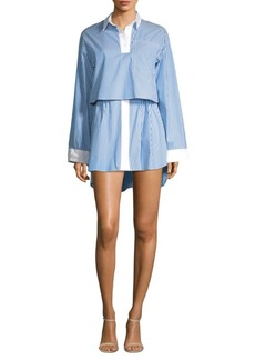Sandy Liang Jodamo Overlay Dress
