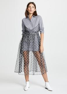 Sandy Liang Mousse Dress