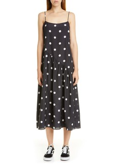 Sandy Liang Polka Dot Slipdress