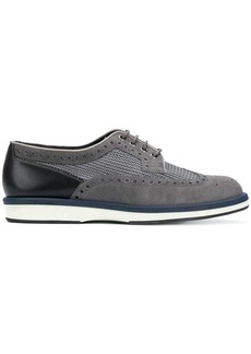 Santoni brogue lace-up shoes