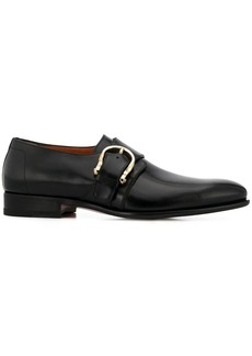 Santoni buckle oxford shoes