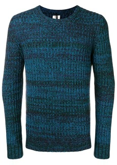 Santoni chunky knit crewneck sweater