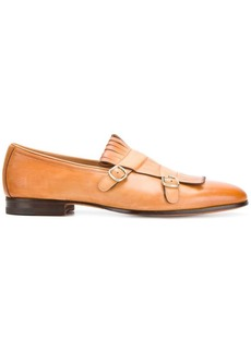 Santoni classic buckled loafers