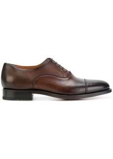 Santoni classic derby shoes
