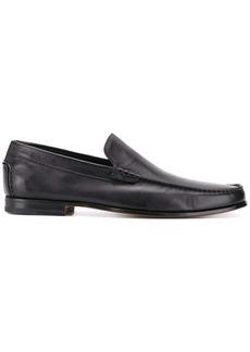 Santoni classic minimal loafers