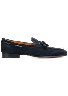 Santoni classic slip-on loafers