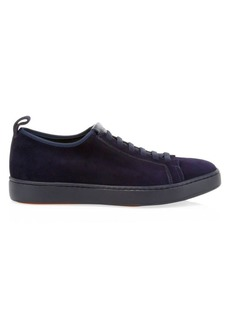 Santoni Clean Icon Inhabit Stretch Sneakers