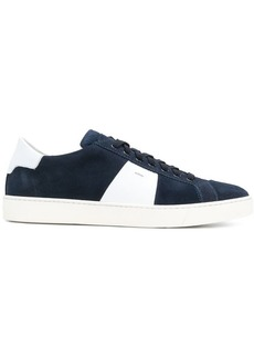Santoni contrast low-top sneakers