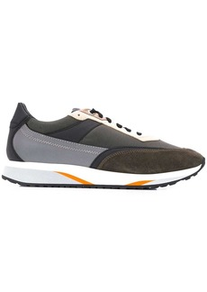 Santoni colour-block sneakers