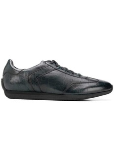 Santoni X AMG crocodile effect sneakers